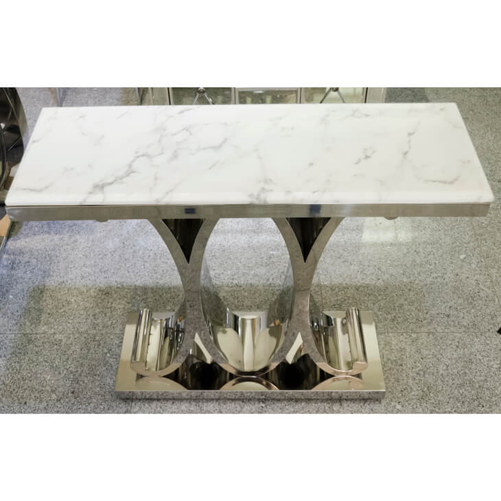 Marble Top Metal Console / 大理石コンソール |IB Selection|CSL0014