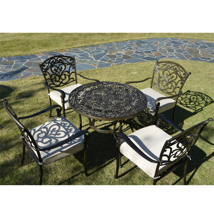 garden furniture garden round table and chair sets ガーデン