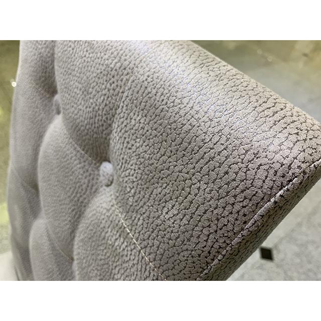 Chair - チェア|グレー・タフティング仕上げ|チェア単品|イタリア製|CAL0087IB