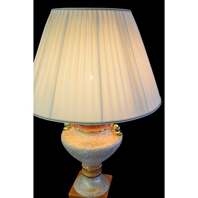 Pottery Lamp / 陶器ランプ   Angela Rigon イタリア製 LMP0041RGN
