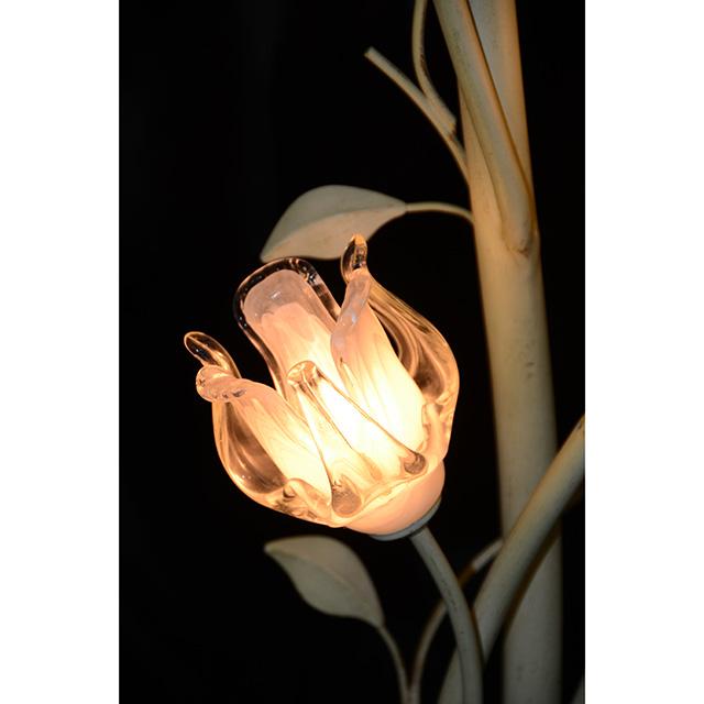 Glass Floor Lamp  / ガラス フロアランプ チューリップ型 イタリア製 LMP0049IB
