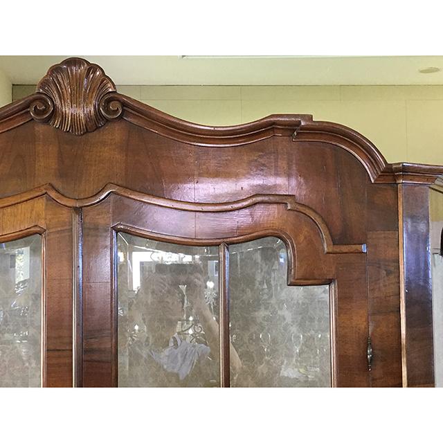 イタリア製|ワイドキャビネット|飾り棚|三面ガラス|少々難あり|アウトレット|IB Selection|SRE0085IB