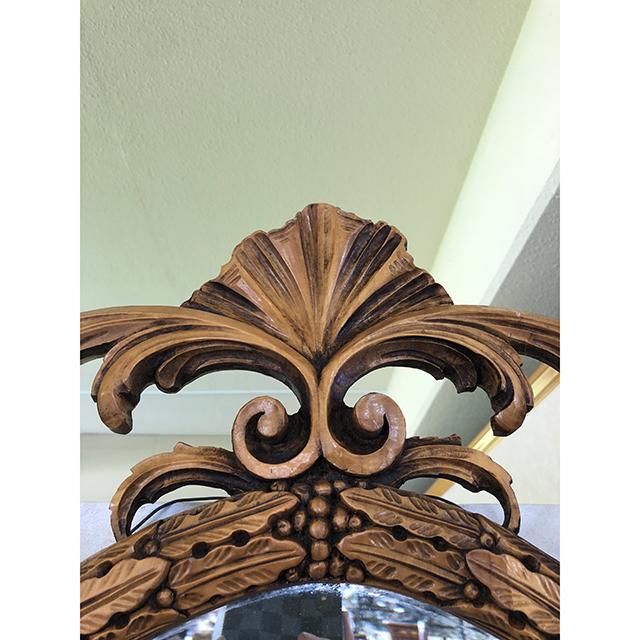 イタリア製|彫刻仕上げミラー|手彫り|IB Selection|MRR0009IB