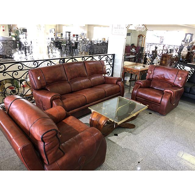 イタリア製|Sofa For 3 Set / ソファ3点セット|高級レザー使用|Leather / 革張り| IB Selection|SF0101IB