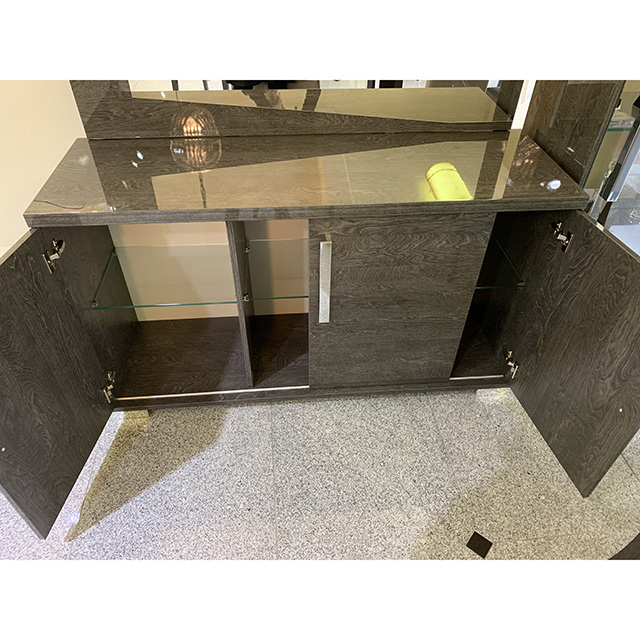 Side Board - サイドボード|木目調・グレー仕上げ|イタリア製|SRE0091IB