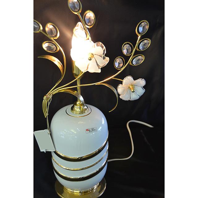 Pottery Lamp / 陶器ランプ  イタリア製 LMP0044IB
